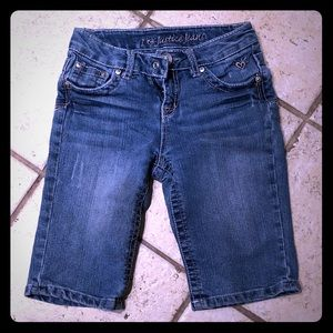 Justice Jean Shorts, Girls Size 10